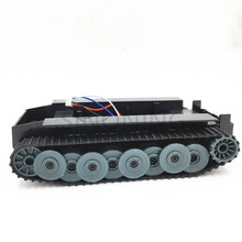 Cheap Smart Robot Tank Car Chassis kits track two motor for Arduino SINONING cheap robot tank chassis platform diy chassis smart track huanqi for arduino sinoning sn700