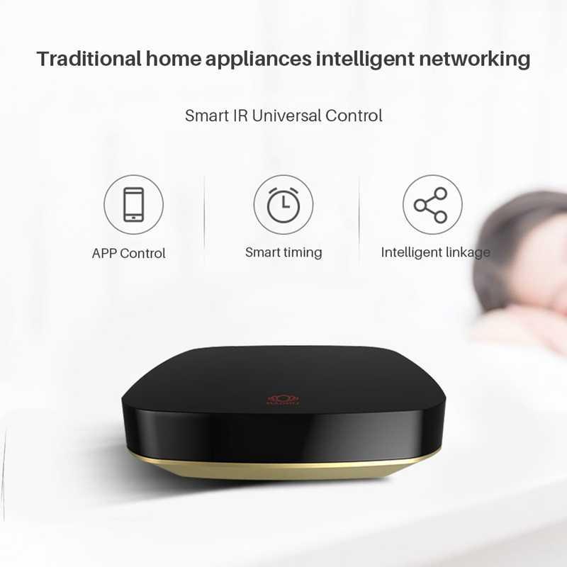Mini evrensel Wifi akıllı Ir ses uzaktan kumanda Ac Tv kızılötesi ekipman Alexa Google ev ile çalışmak asistan ev cihazı