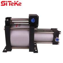 SITEKE Air Pressure Booster Pump AB07  7:1 Ratio  Increasing pressure  to Max 58.1 Bar  Min driving gas pressure 3.4 Bar цены