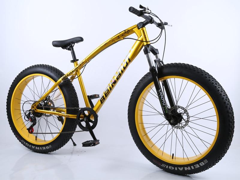 HTB1 WY7df5TBuNjSspcq6znGFXag 26inch Mountain Bike 4.0 Extra Large Tire Variable speed Snow bicycle Shock-absorbing Beach Bike Big Tire 7-speed Mountain Bike