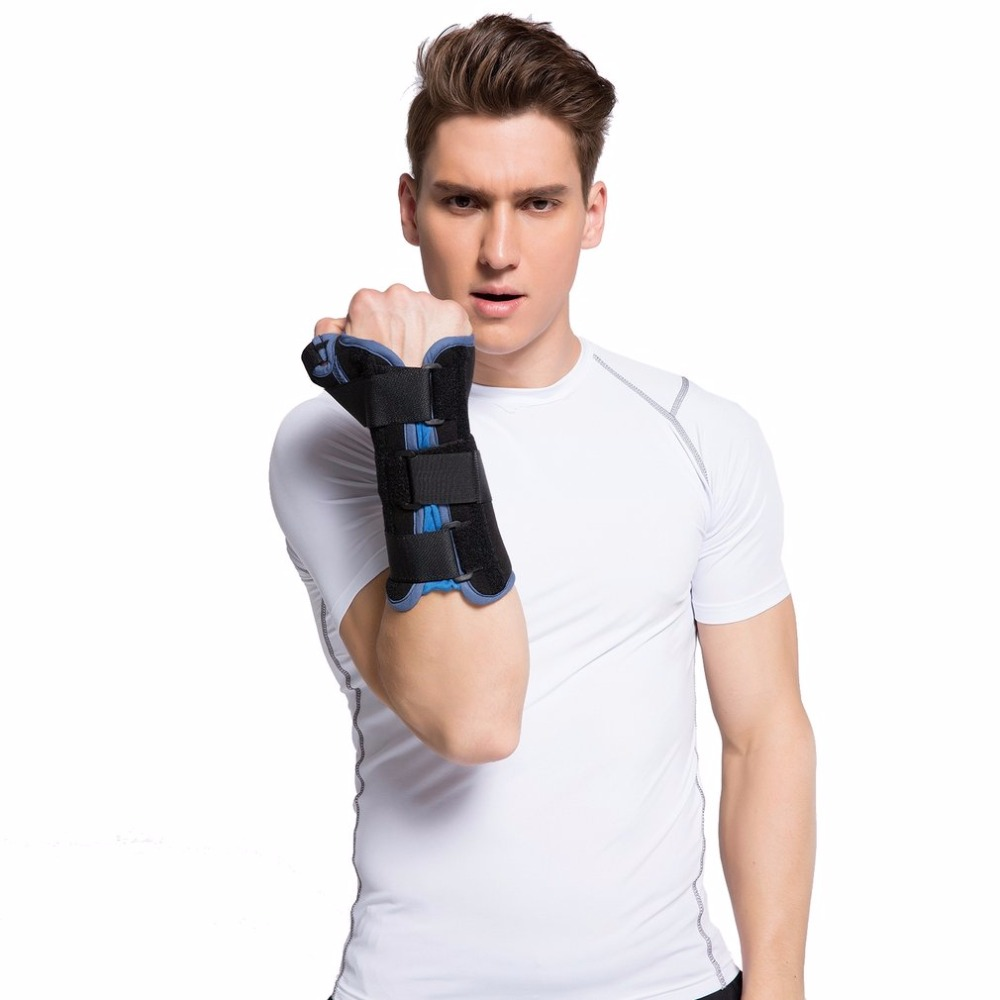 Adjustable Breathable Lightweight Wrist Brace Wrist Support with Thumb Limbs Immobilizer Arthritis Pain Relief Free Ship