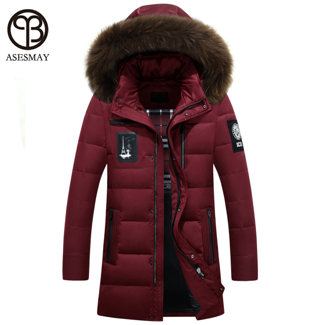 04221590de8 Asesmay 2016 mens winter jackets and coats brand designer geography down  jacket russian military feather parkas casual parka