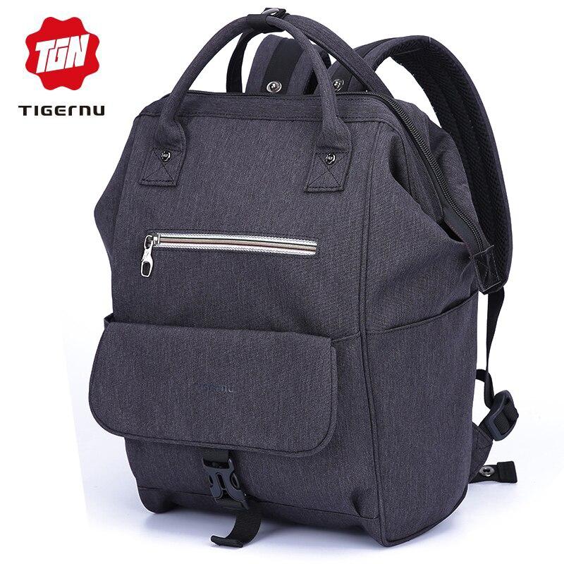 Tigernu Brand Women Backpack Shoulder Bag School Bags For Teenager Casual Solid Feminine Kanken Backpacks Mochila Bagpack
