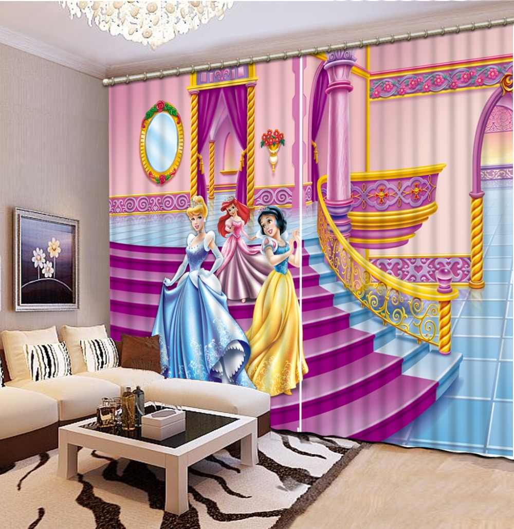 3d curtains customize European style curtains for Living room bedroom Girl room high quality beautiful curtains