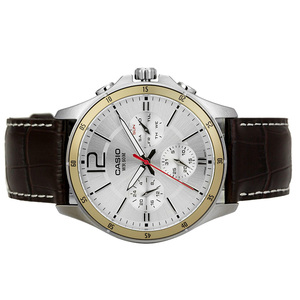 Image 3 - Casio Watch Pointer Series Multi function Chronograph Mens Watch MTP 1374L 7A