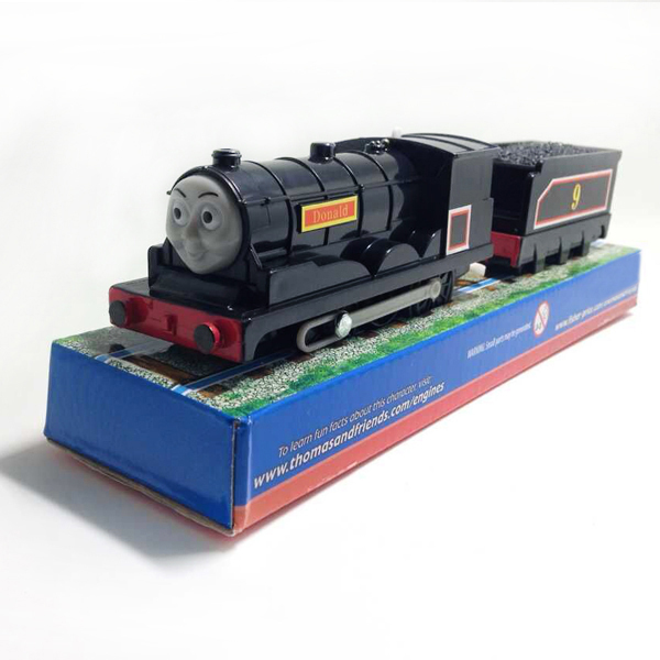 X087 electric thomas and friend donald with one carriage Motorized kids toys