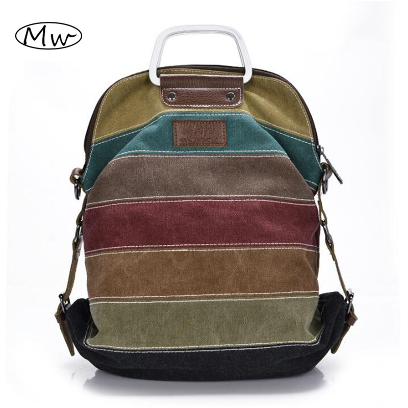2018 New Casual Patchwork Tote Bag Metal Handle Rainbow Canvas Shoulder Bag Multifunction Girls Shoulder Messenger Bag Bolsos 2018 new casual patchwork tote bag metal handle rainbow canvas shoulder bag multifunction girls shoulder messenger bag bolsos