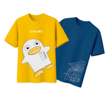 Brdwn Gintama Silver Soul Yoroziya Elizabeth Cosplay T-shirt Short Sleeve Tee Cotton Tops