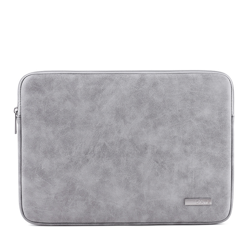 2019 Waterproof PU <font><b>Leather</b></font> <font><b>Laptop</b></font> <font><b>Sleeve</b></font> Case For Macbook Pro Air <font><b>13</b></font> 14 15 <font><b>inch</b></font> Notebook Computer PC Cover Pouch for Dell HP image
