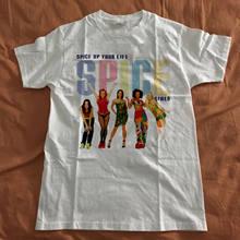 8d37fd162e5d8 Spice Girls Shirt Vintage 1997 Spice World Movie Spice Up Your Life Pop  reprint Men T Shirt Print Cotton Short Sleeve T-Shirt