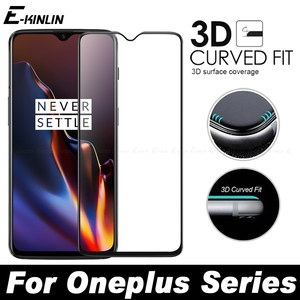 Full Cover 3D Edge Curved Fit Tempered Glass For One Plus OnePlus 7T 7 6T 6 5T 5 A6010 A6000 A5010 A5000 Screen Protector Film(China)