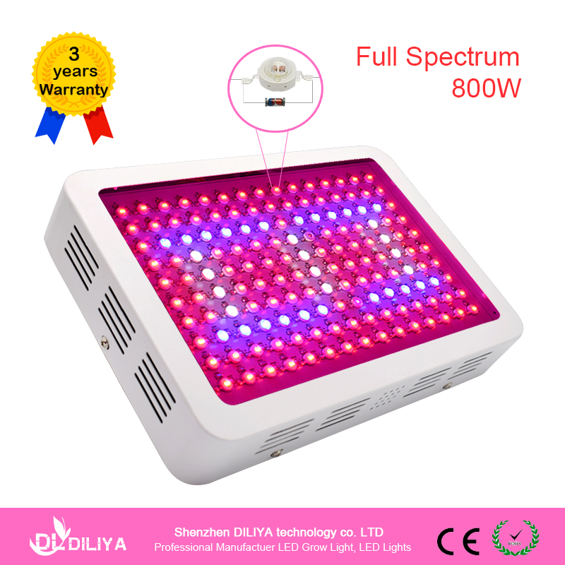 Industrial Grow Light: NEW 800 Watt LED Grow Light Full Spectrum Grow Lights