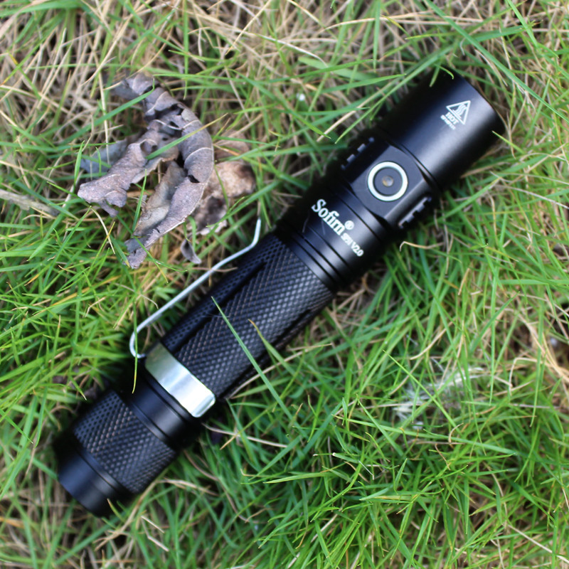 Sofirn SP31 V2.0 Led Flashlight 1200lm 18650 XPL-HI LED Torch Light Tactical Lamp High Power Flashlight 5300-5700K Lanterna
