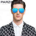 Parzin Polarized Sunglasses Men Sun Glasses Male Oversized Glasses For Driving Shades Oculos De Sol Masculino With Box  8009