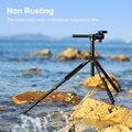 K & F Concept TM2515T DSLR штатив для камеры 60 дюймов профессиональные магниевые алюминиевые штативы портативный монопод градусная шаровая Головка