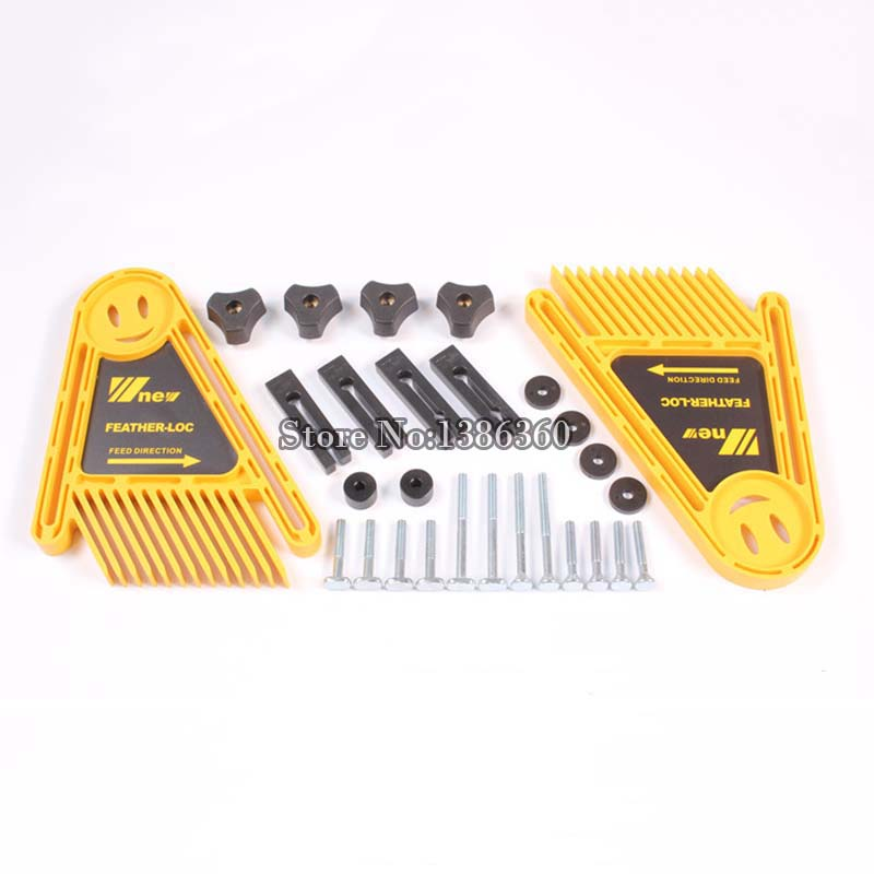 DIY Multi-purpose Double Featherboards Feather Loc Board for Table Saws Router & Tables Fences Tools Miter Gauge Slot CP523 multi purpose tools set double featherboards table saws router tables fences electric circular saw diy for woodworking tools