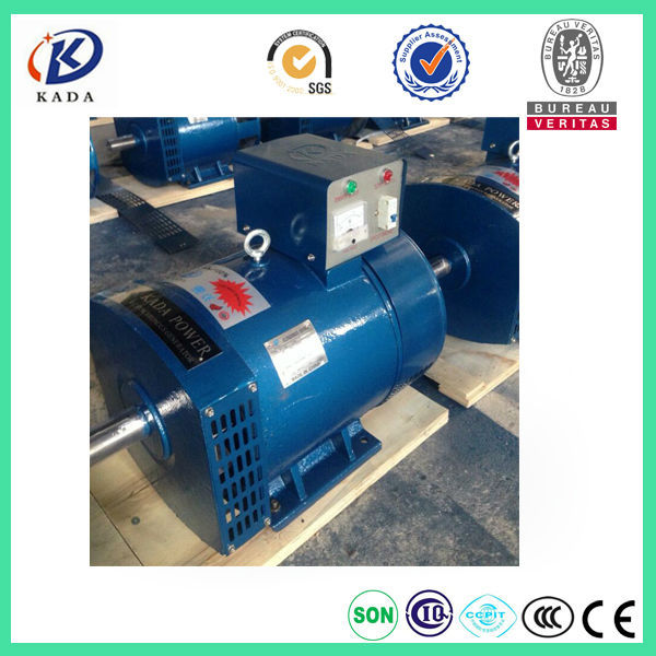 US $1203 0 |STC 12KW 3 Phase Brush 15kva Generator 380V 50Hz Alternator  Free Shipping to Russia station by railway transportation-in Diesel  Generators