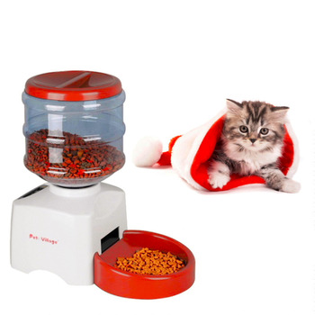 5.5L Automatic Pet Feeder with Voice Message Recording 1