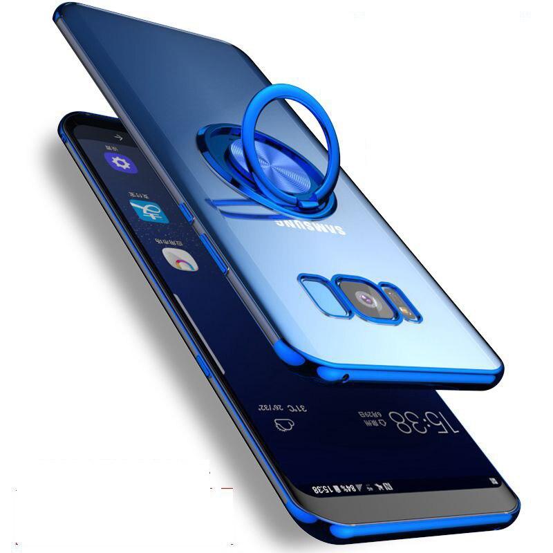 Magnet-Cover-Case Car-Holder A70 Case A30 Samsung Galaxy S10e Transparent For S10-plus/S10e/M10/..