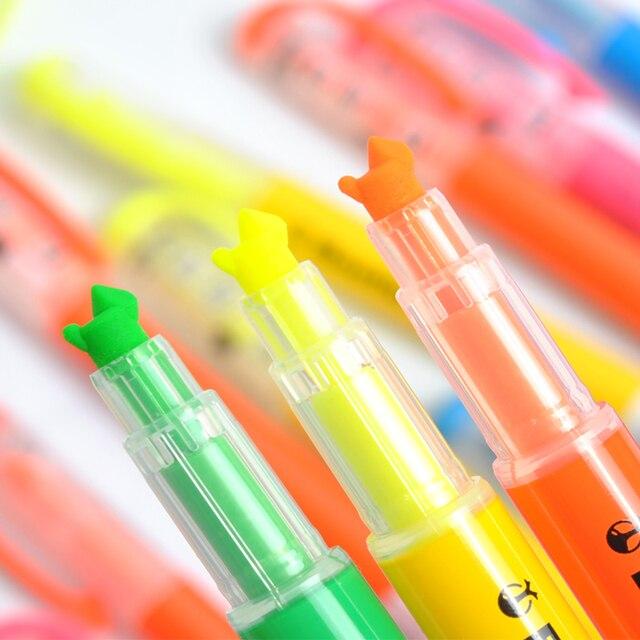Beetle kokuyo neon pen beetle tip line