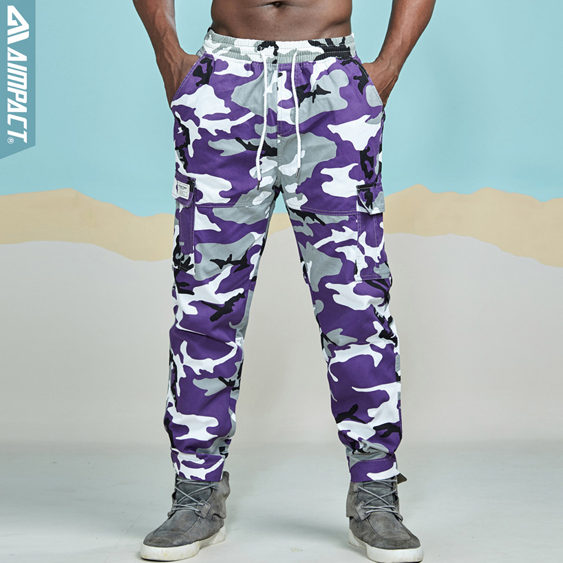 for Jogging Casual Jogger Pants Trouser Training Mens Camo Sweatpants Printed Open Bottom Workout Pants with Pockets