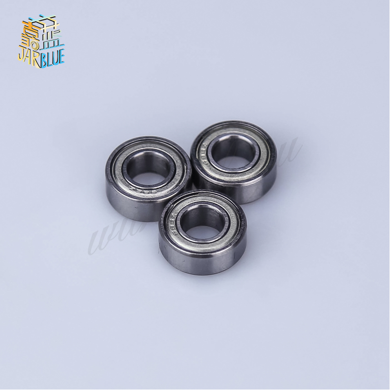 5pcs Double Shielded Miniature High-carbon Steel Single Row 608zz Abec-7 Deep Groove Ball Bearing 8*22*7 8x22x7 Mm 608 Zz
