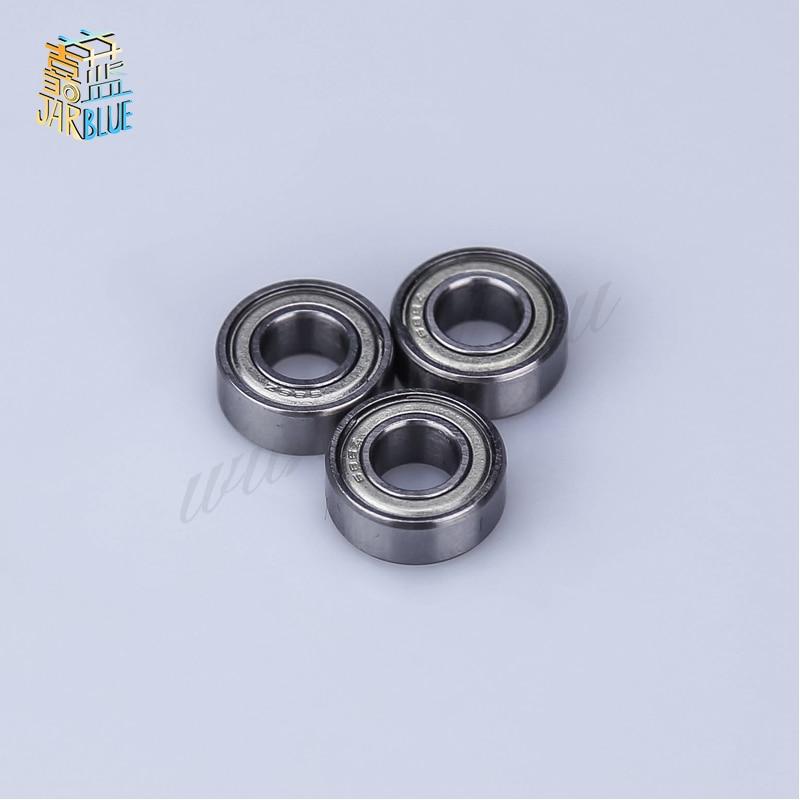 5pcs Double Shielded Miniature High-carbon Steel Single Row 608zz Abec-7 Deep Groove Ball Bearing 8*22*7 8x22x7 Mm 608 Zz