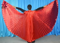 Angle Hot Selling Wings Egyptian Egypt Belly Dance Costume Isis Wings Dance Wear Not Stick 11