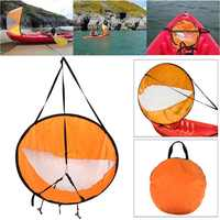 Foldable Kayak Boat Wind Sail Sup Rowing Boats Paddle Board Sailing Canoe stroke PADDLE Wind Clear Window Kayak Wind sail