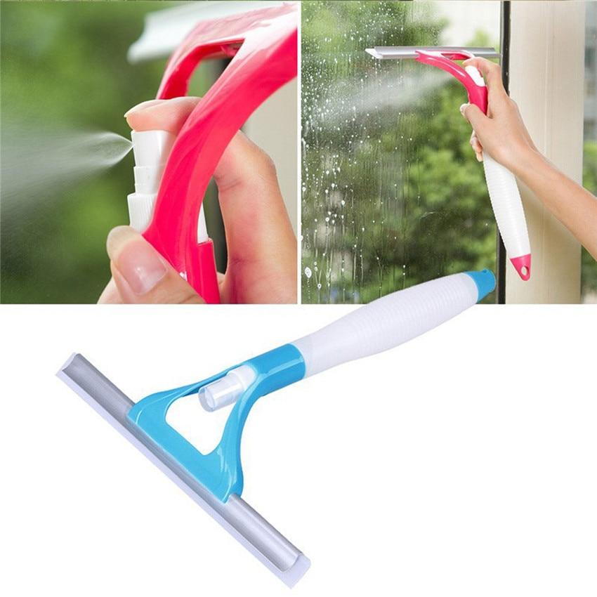 2018 Multifunctional Spray Water Glass Scratch Car Glazing Door Floor Wash Cleaner Spray Type Cleaning Brush #0206