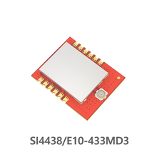 Беспроводной rf-приемник SI4438 433 МГц E10-433MD3 радиочастотный передатчик дальний трансивер SPI 100 мВт беспроводной передатчик iot rf модуль