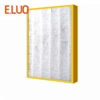 355*270*50mm Air Purifier Filter HEPA +photocatalyti + activated carbon+deodorization filter Composite Filter for TCL360