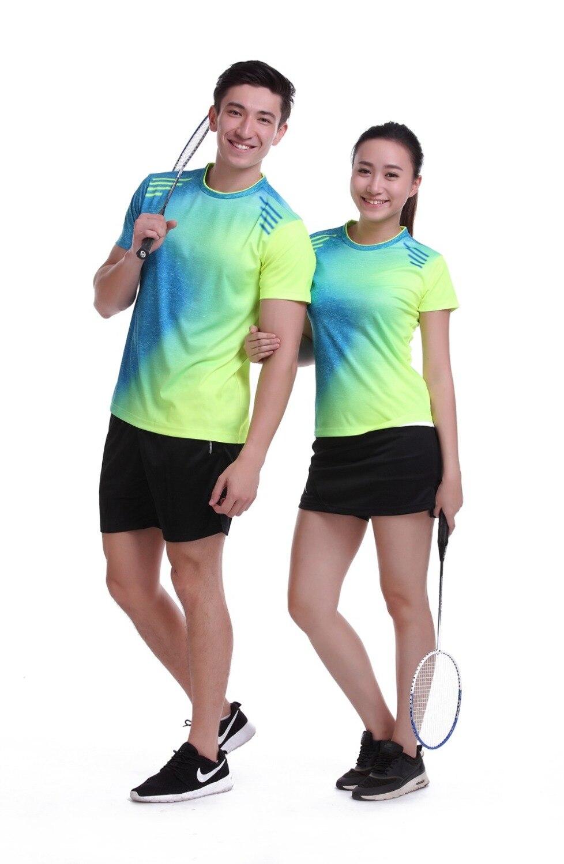 b44c42e9d4d 2017 Plus Size Sportswear Quick Dry Breathable Badminton Shirt