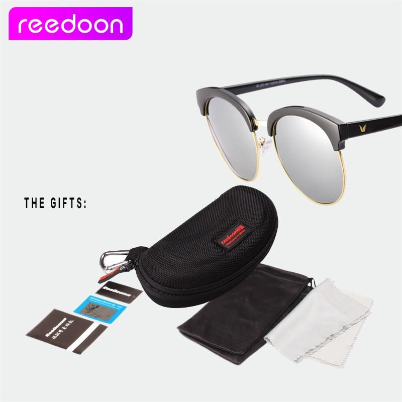 REEDOON Klasik Kacamata Polarisasi Separuh Logam Lelaki Wanita Merek - Aksesori pakaian - Foto 6