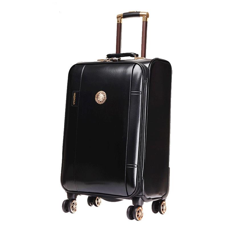 Bolso de viaje de cabina de 20 pulgadas con ruedas para maleta con contraseña para hombre-in Maletas from Maletas y bolsas    2