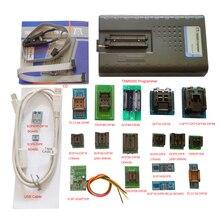 2019 New TNM5000 USB EPROM Programmer+18pc sockets+IC Clip for NAND flash/EPROM/MCU/PLD/FPGA/ISP/JTAG,Support K9GAG08U0E