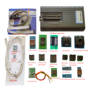 Image 1 - 2019 New TNM5000 USB EPROM Programmer+18pc sockets+IC Clip for NAND flash/EPROM/MCU/PLD/FPGA/ISP/JTAG,Support K9GAG08U0E