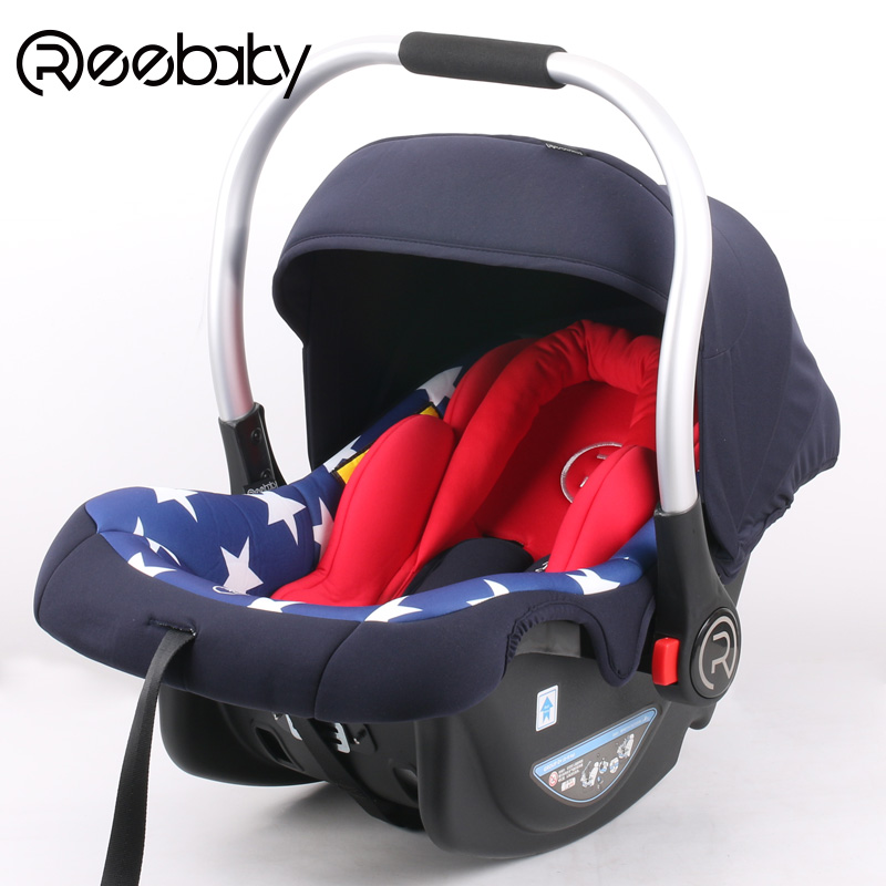 Reebaby Baby Basket Safety Seat Child Car Cradle 0-1 Year Old 3c Certification basket style baby newborn baby child safety seats or automobile seat 3c