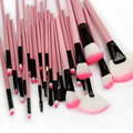 32pcs Pro Makeup Brushes Set Synthetic Makeup Brushes Brand EyeBrow Powder Lipsticks Shadows Brush For Women With Leather Case