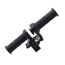 """26 W 7/8 """"22mm Apretones de Manillar de Moto Motocicleta Eléctrica Climatizada Climatizada Caliente Maneja 12 V USB Cargador de coche-estilo"""