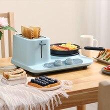 3 в 1 многофункциональная машина для завтрака бытовой тостер электрический тостер для хлеба с бесплатной доставкой нагрев для выпечки вареное яйцо