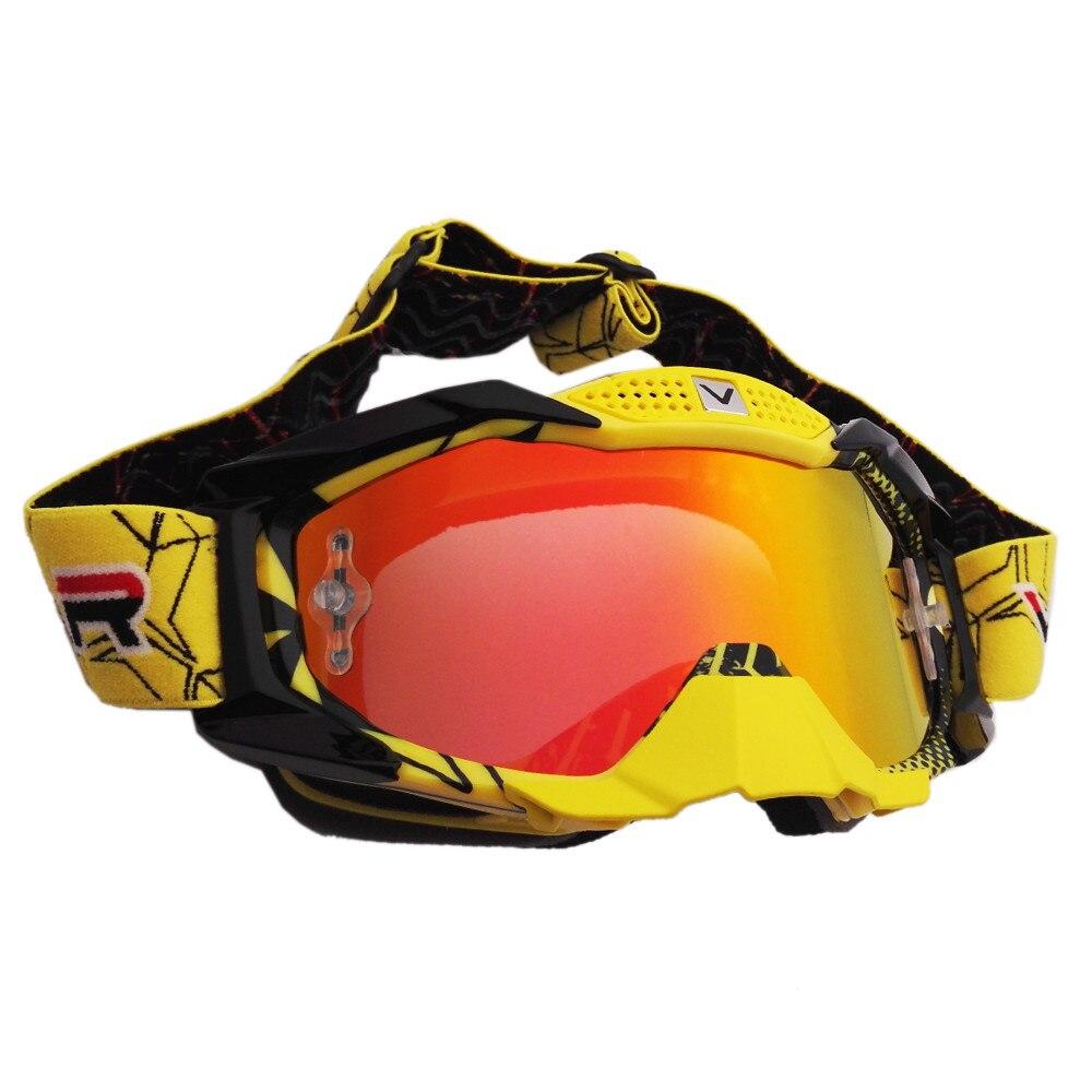 2017 lunettes de Motocross ski de fond Snowboard ATV masque Oculos Gafas casque de Motocross moto MX lunettes