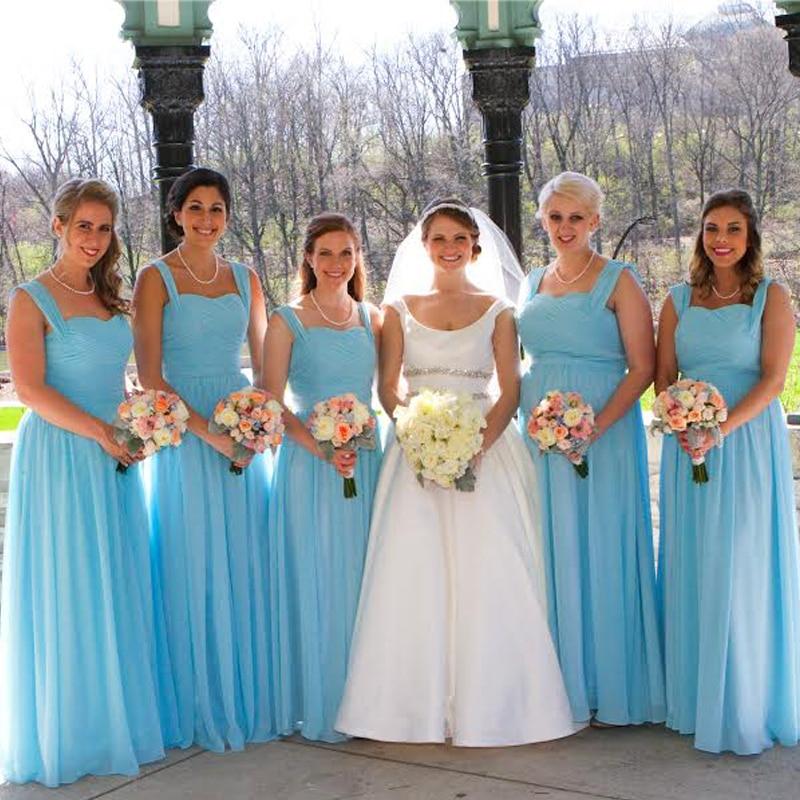 Popular Pool Bridesmaid Dress-Buy Cheap Pool Bridesmaid ...