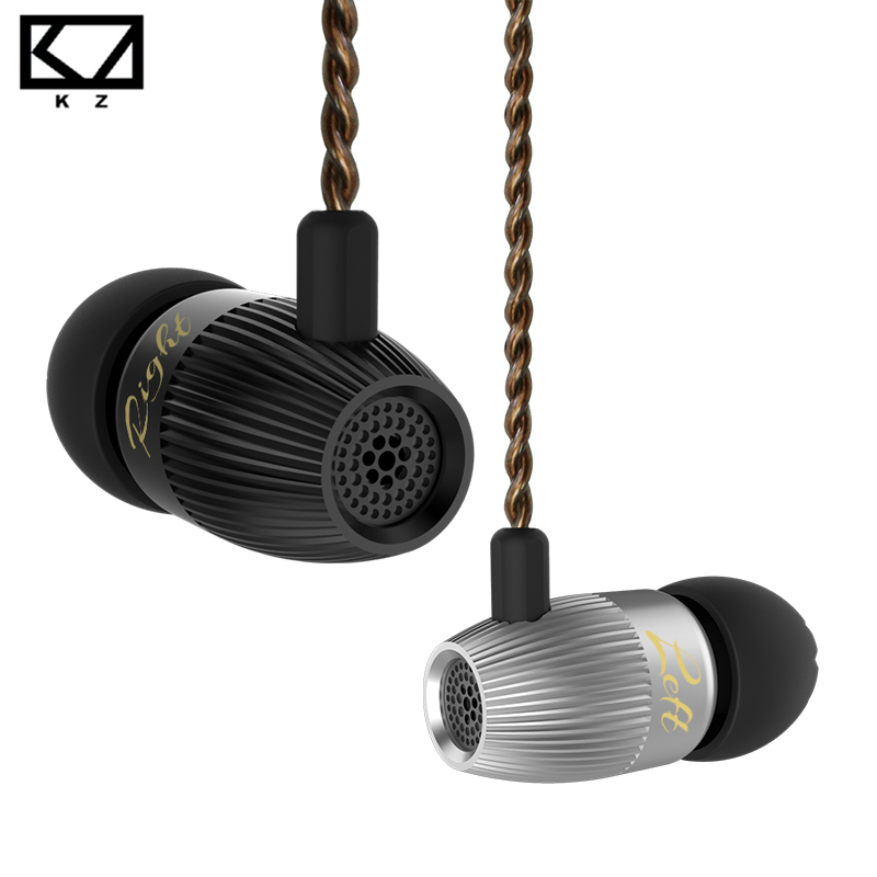 KZ ED15 In Ear Earphone Dynamic And Armature Earphones with Microphone Dual Driver Bass Stereo Earbuds HiFi In Ear Monitor