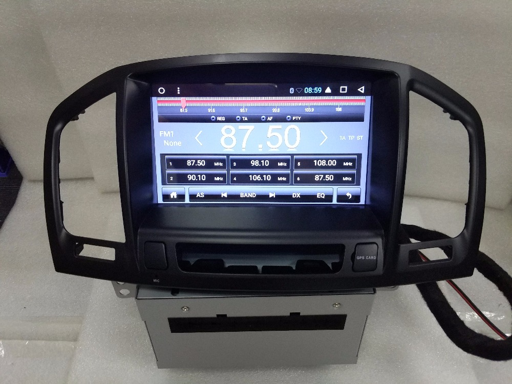 Android auto DVD player <font><b>GPS</b></font> multimedia navigation <font><b>f</b></font>ür Opel Insignia CD300 CD400 Regal Vauxhall 2010 2011 2012 Stereo Radio image