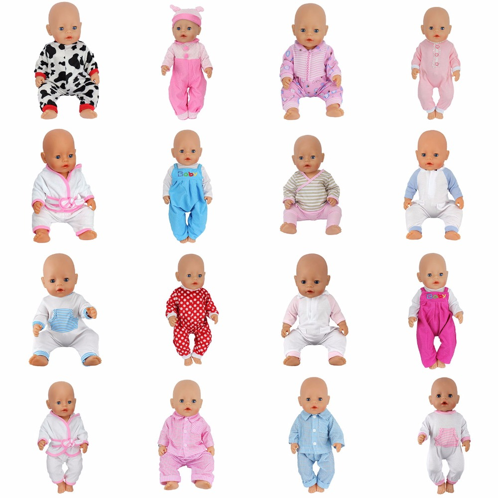 112style Jumpsuit Wear fit 43cm Baby Born zapf,  Children best  Birthday Gift(only sell clothes) 2color choose leisure dress doll clothes wear fit 43cm baby born zapf children best birthday gift only sell clothes