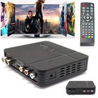 New HD 1080P DVB T2 Receiver Black High Quality H 264 TV Satellite Receiver Video Broadcasting