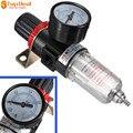 Nueva Llegada Neumático Compresores de Tratamiento Del Aire Fuente Filtro Regulador w indicador de Presión Afr-2000