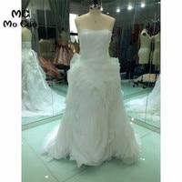 Same Effect 2018 Ball Gown Wedding Dresses Sweetheart Off Shoulder Vestido De Noiva Wedding Dress Bridal Gown 100% Real Sample