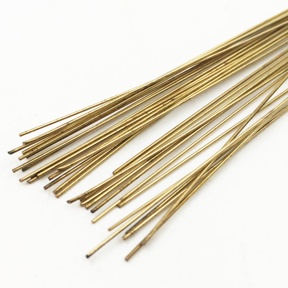 20pcs/pack Silver Welding Rods For Little Torch Jewelry Welding Rods 50cm Dia 0.3mm 15% Silver Welding Electrode Welding Rods